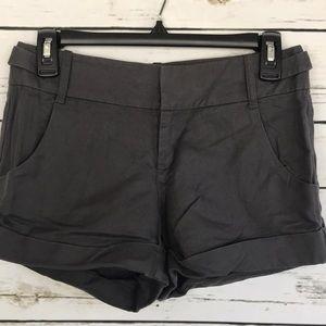 Banana Republic gray linen shorts size 0